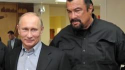Seagal avec Poutine pour promouvoir la vie