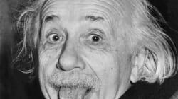 Exposition du cerveau d'Einstein en