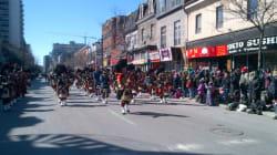 Défilé de la Saint-Patrick à