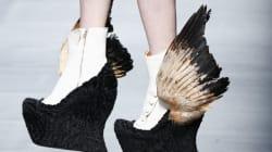 La moda che ha le ali ai piedi