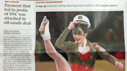 LOOK: Globe And Mail Photo Of Figure Skater Spurs