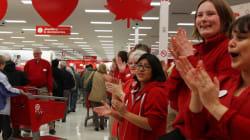 Target Canada Speeds Up Store