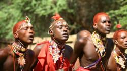 Maasai Warriors In The New