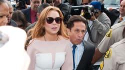 Lindsay Lohan's Look of