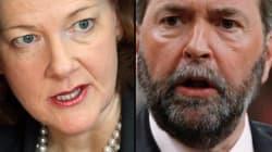 Alberta Premier Unleashes On Thomas