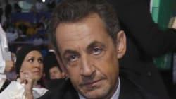 Sarkozy en Libye