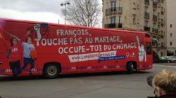 Un bus de la manif pour tous sillonne déjà les rues de