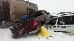 LOOK: Storm Kills 3 Motorists, Injures More Than