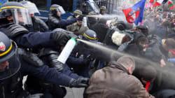 Des gaz lacrymogènes tirés, Wauquiez demande des