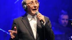 Franco Battiato a 68 anni all'Olympia.