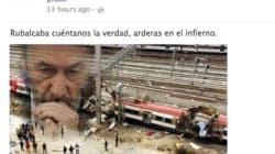 Un concejal del PP relaciona a Rubalcaba con el 11-M en