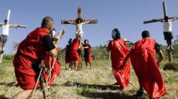 Les chrétiens soulignent le Vendredi saint à Jérusalem