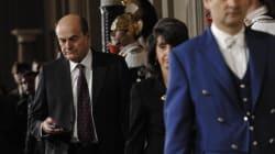 Bersani freddo con Napolitano: no a un governo con il