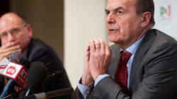 Bersani non esclude di fare cappotto: Quirinale e