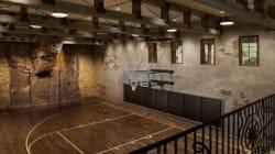 16 terrains de basket (de luxe) dans des maisons de luxe