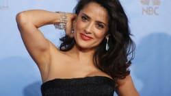 Salma Hayek , du strip-tease à la comédie