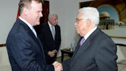 Baird, Palestinian Leaders Talk Peace,