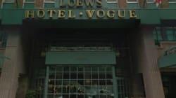Lock-out à l'hôtel Vogue de