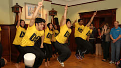 Bollywood Dancers Visit Kids' Care