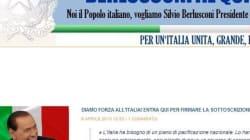 La Biancofiore dedica un sito a Silvio....
