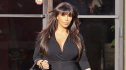 Is Kim Kardashian Wearing Spanx Under Her