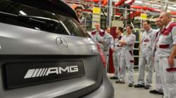 Svelato da Mercedes il motore Amg per la Formula