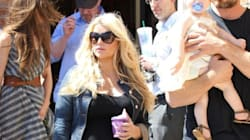 LOOK: Jessica Simpson's Blooming Baby