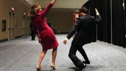 WATCH: Trudeau, Wife Dance Before