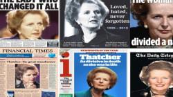 Les Unes divisées de la presse britannique sur la mort de