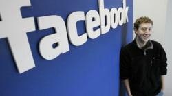 Facebook scende in