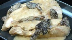 La recette du week-end: suprêmes de volaille aux