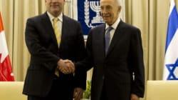 Les Palestiniens fustigent la visite de John Baird à