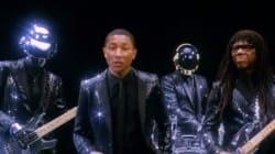 L'extrait funky du nouveau Daft Punk avec Pharrell