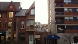 LOOK: Where Did The Other Half Of This Toronto House
