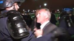 VIDEO. Ce député UMP a-t-il frappé un policier