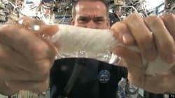 WATCH: Chris Hadfield's INSANE Water