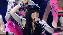 PHOTOS: Carly Rae Strips On Stage To Reveal Edgy