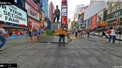Camminare per le strade di New York? Basta un