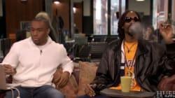 Snoop Dogg fume un joint sur le plateau télé du