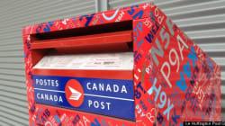 Postes Canada ferait face à des pertes de 1 milliard