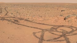 Dessiner un pénis sur Mars, ça n'a pas de
