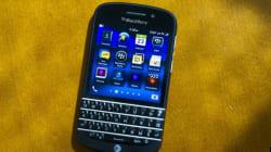 BlackBerry perd des