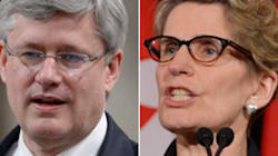 Wynne And Harper Tories Face