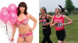Sa revanche sur l'anorexie: elle devient mannequin grande