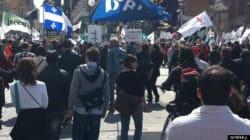 EI Reform Protest Draws Big