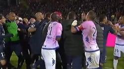 Évian-PSG, la fin de match qui