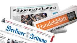La presse allemande ne rate pas le