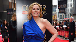 LOOK: Kim Cattrall Sizzles At The Olivier