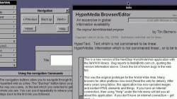 Pour les 20 ans du Web, le tout premier site internet est remis en
