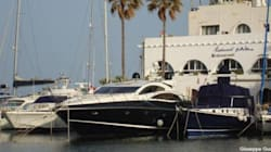 Ecco lo yacht del figlio di Bossi ormeggiato in Tunisia (Foto del Corriere della